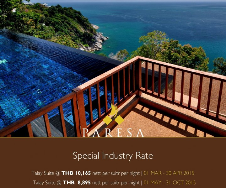 Special Travel Trade Staff Rate