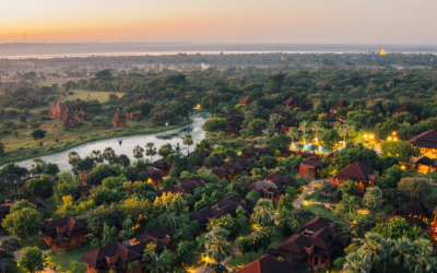 Inspiring Events in Aureum Palace, Bagan