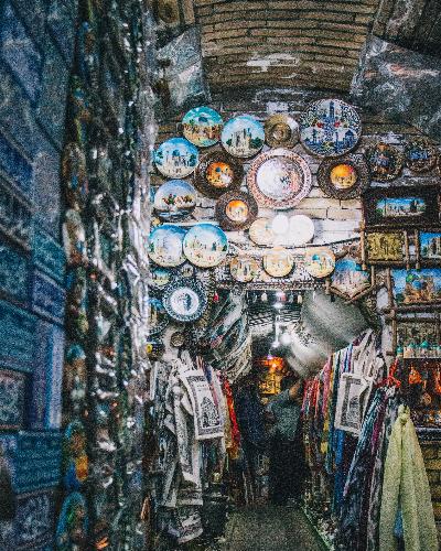 Uzbekistan bazaar