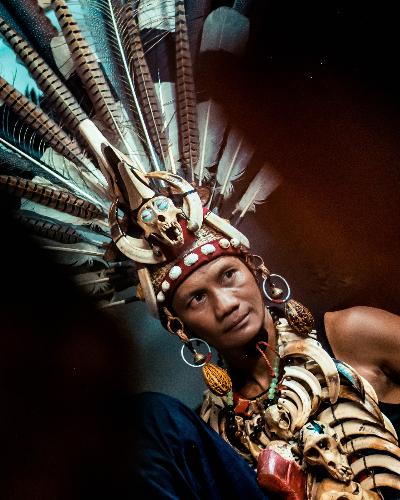 Dayak Tribe, Indonesia
