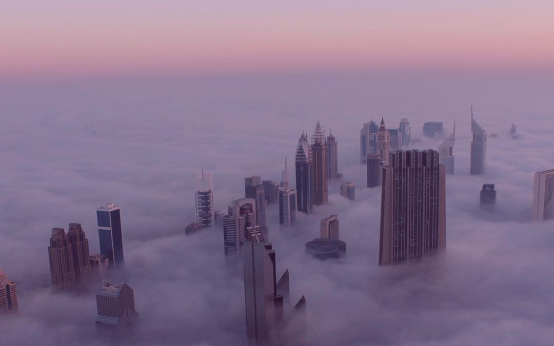 Dubai at a distance (social, that is!)