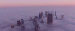 Dubai from above , United Arab Emirates
