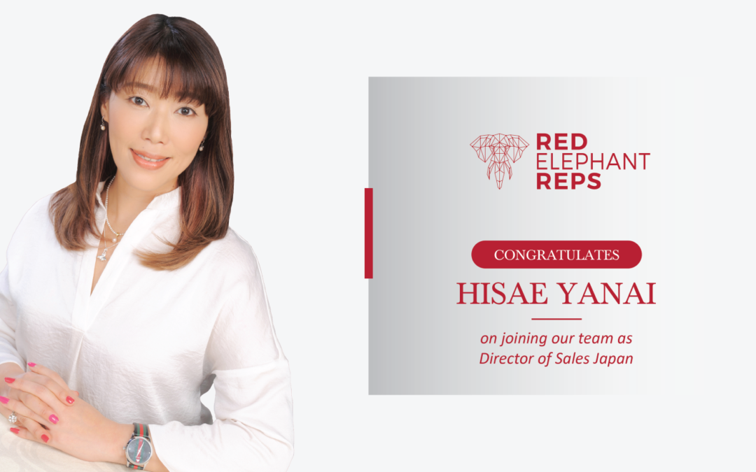 Hisae Yanai appointed as Director of Sales for Japan