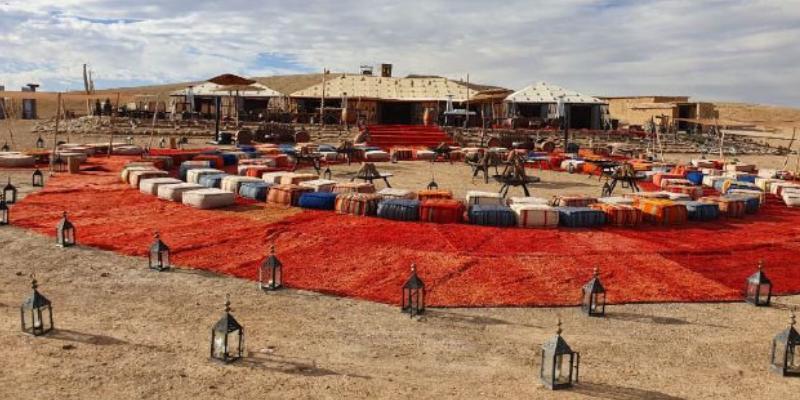 MICE in the Morocco desert