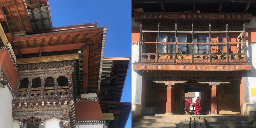 Bhutan Gangtey Monastery