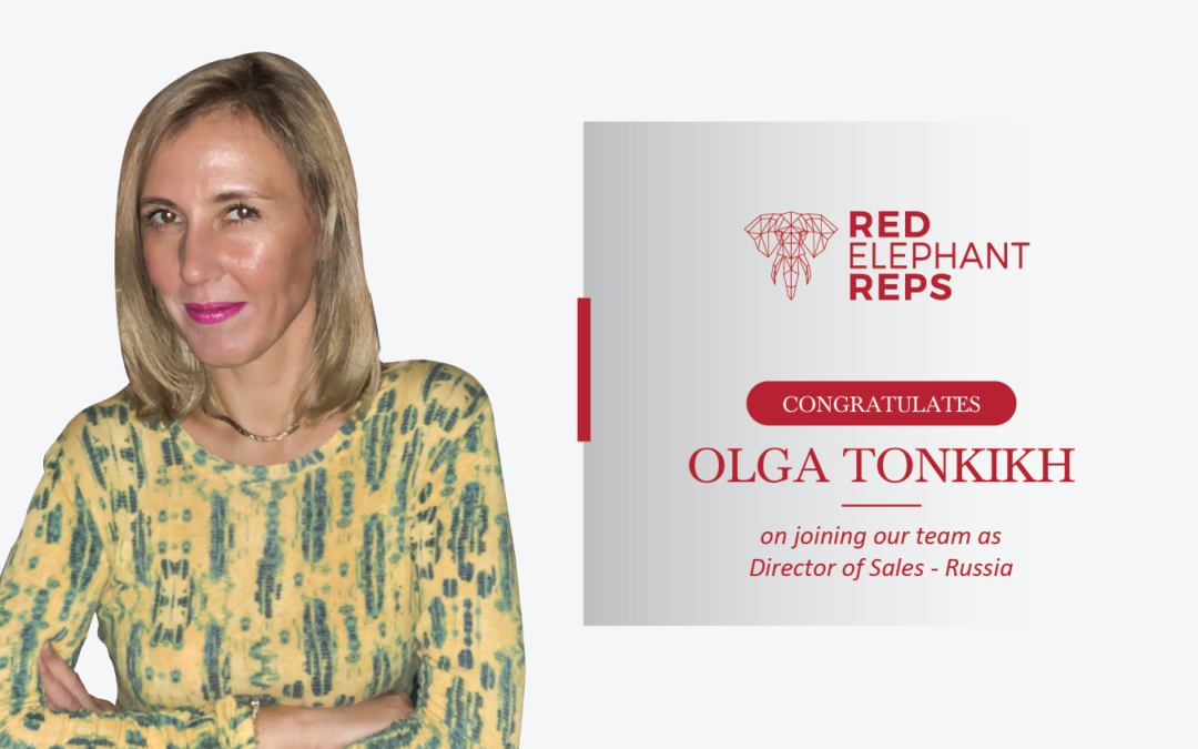 Olga Tonkikh appointed as Director of Sales for Russia