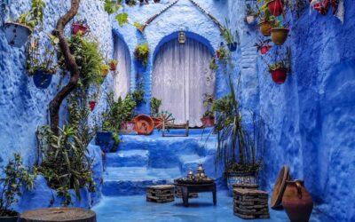 50 Shades of Blue in Morocco