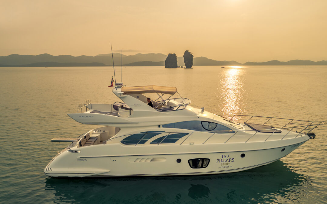 Sail into the Sunset in Thailand with 137 Pillars Spirit Motor Yacht